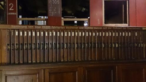 Colecţia de bilete de tren din diferite ţări