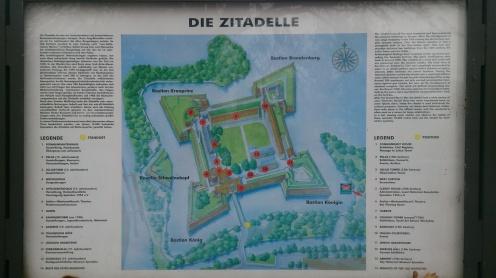 Harta cetăţii Spandau
